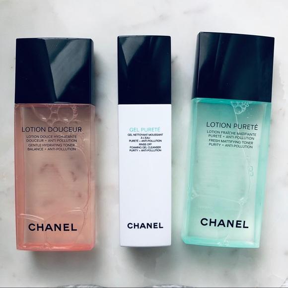 CHANEL Other - Chanel Toner Purete Douceur   Gel Cleanser Purete ce405f067aca